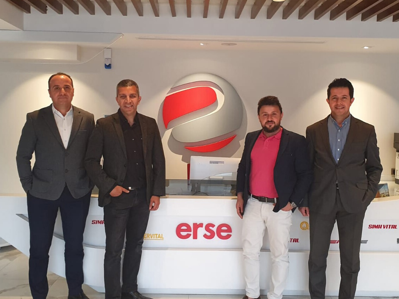 B2B Store We met with Erse Kablo managers
