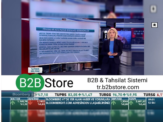 B2B Store Bloomberg Advertising Campaign