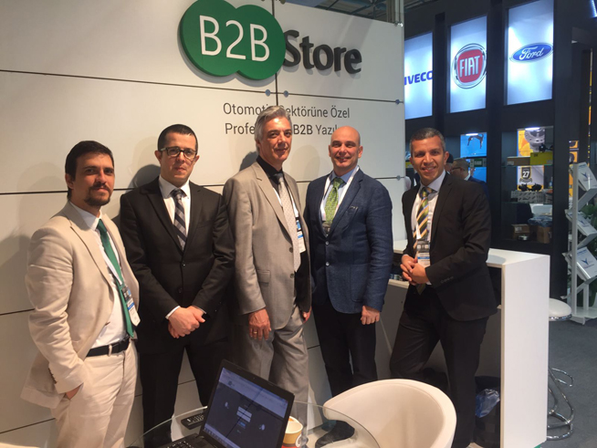 B2B Store B2B Store at Automechanika Istanbul Fair - 2018