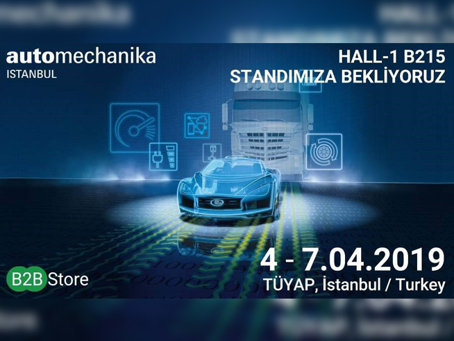 B2B Store B2B Store at Automechanika Istanbul Fair - 2019